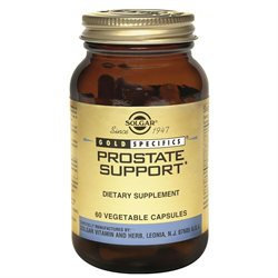 Solgar Prostate Support - 60 Veggie Caps - Saw Palmetto Combinations