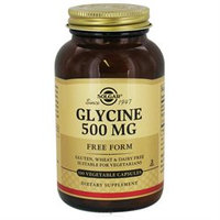 Solgar Glycine - 500 mg - 100 Vegetable Capsules