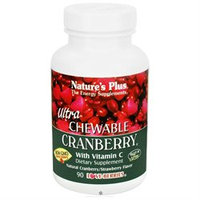 Nature's Plus - Ultra Cranberry - 90 Chewable Tablets