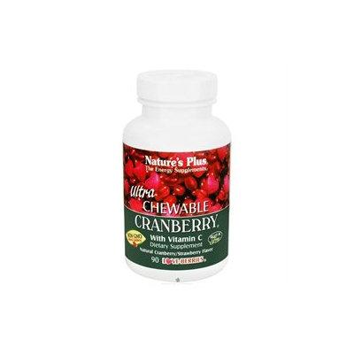 Nature's Plus - Ultra Cranberry - 90 Chewable Tablets