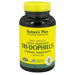 Nature's Plus - Tri-Dophilus - 120 Vegetarian Capsules