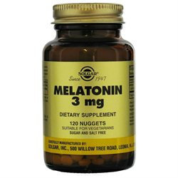 Solgar - Melatonin 3 mg. - 120 Nuggets