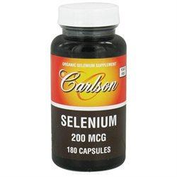 Carlson Laboratories Selenium 200 mcg, 180 Capsules, Carlson Labs
