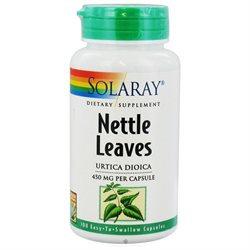 Solaray Nettle Leaves - 450 mg - 100 Capsules