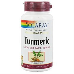 Solaray Turmeric Root Extract - 300 mg - 120 Capsules