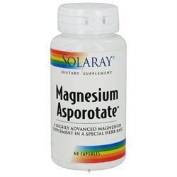 Solaray - Magnesium Asporotate, 400 mg, 60 capsules [Misc.]