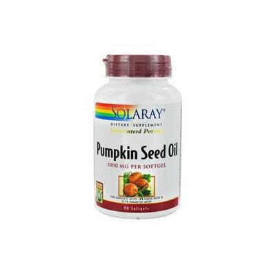 Solaray Pumpkin Seed Oil - 1000 mg - 90 Softgels