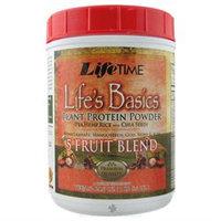 Lifetime Life's Basics Plant Protein Powder 5 Fruit Blend - 21.6 oz - Vegan