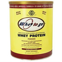 Solgar - Whey To Go Protein Powder Natural Vanilla