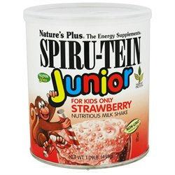 Nature's Plus - Spiru-Tein JUNIOR Nutritious Milk Strawberry - 1.09 lbs.