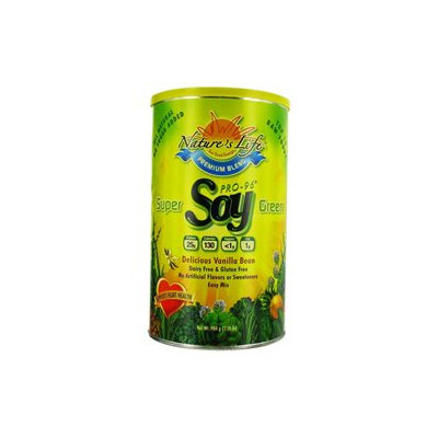 Super Green Soy Protein Nature's Life 2 lbs Powder