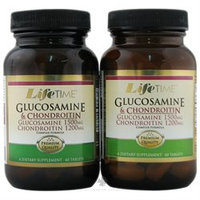 LifeTime Vitamins - Glucosamine 1500 mg & Chondroitin 1200 mg Complex Formula 6060 Twin Pack - 120 Tablets