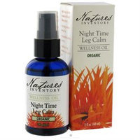 tures Inventory Nature's Inventory - Wellness Oil Organic Night Time Leg Calm - 2 oz.