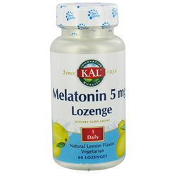 Kal Melatonin Lozenges 5 mg