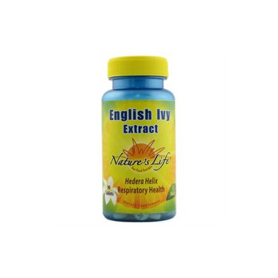 Nature's Life - English Ivy Extract - 90 Tablets