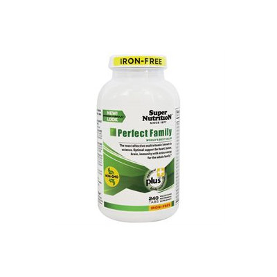 Super Nutrition Perfect Family (Iron Free)