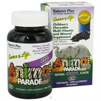 Animal Parade - Grape by Nature's Plus 90 Chewable