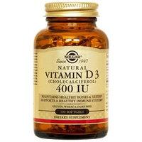 Solgar - Vitamin D3 Cholecalciferol 400 IU - 100 Softgels