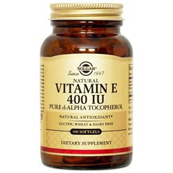 Solgar Vitamin E - 400 IU - 100 Softgels