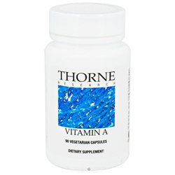 Thorne Research Vitamin A - 90 Vegetarian Capsules