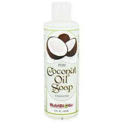 Nutribiotic - Pure Coconut Oil Soap Unscented - 8 oz.