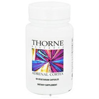 Thorne Research Adrenal Cortex 60 Vegetarian Capsules