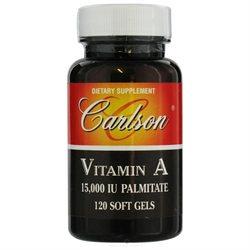Carlson Laboratories Carlson Labs, Vitamin A Palmitate 15000 IU 120 softgels