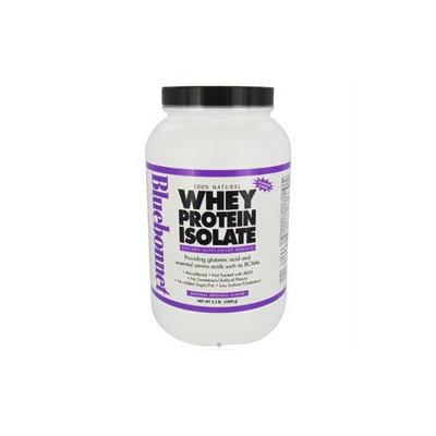 Bluebonnet Nutrition - 100 Natural Whey Protein Isolate Powder Natural Original Flavor - 2.2 lbs.