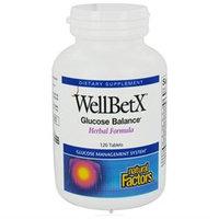 Natural Factors - WellBetX Glucose Balance Herbal Formula - 120 Tablets