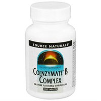 Source Naturals Coenzymate B Complex Sublingual Orange - 120 Tablets