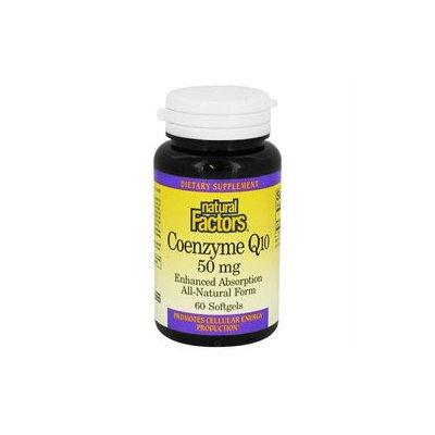 Natural Factors Coenzyme Q10 - 50 mg - 60 Softgels