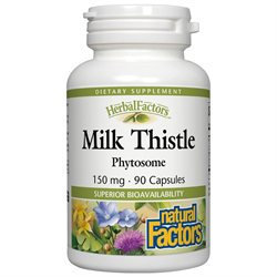 Natural Factors Milk Thistle Phytosome - 150 mg - 90 Capsules