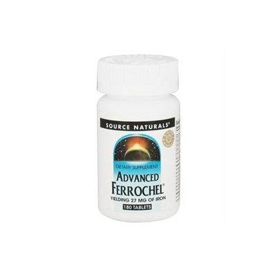 Source Naturals Advanced Ferrochel Iron 27 mg Tabs