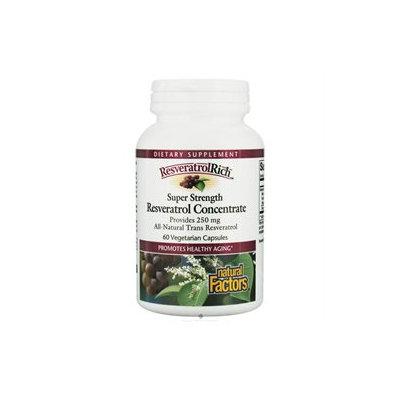 ResveratrolRich Super Strength 60 Veggie Caps from Natural Factors