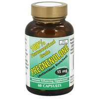 Only Natural Pregnenolone - 15 mg - 60 Capsules