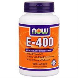 NOW Foods - E-400 20 Mixed Selenium - 100 Softgels