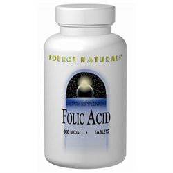 Source Naturals Folic Acid 800 mcg Tabs
