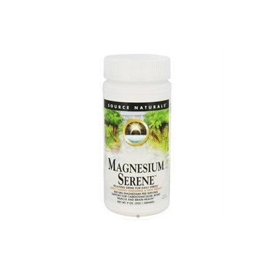 Source Naturals Magnesium Serene Powder - Tangerine