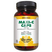 Vitamin C Maxi 1000 Mg 90 Cap By Country Life Vitamins (1 Each)