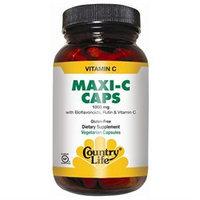 Vitamin C Maxi 1000 Mg 90 Cap By Country Life Vitamins (1 Each)