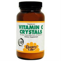 Vitamin C Crystals 4 Oz By Country Life Vitamins (1 Each)