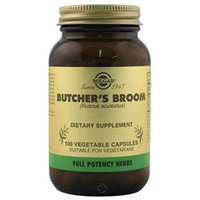 Solgar Butcher's Broom Extract - 100 Vegetable Capsules