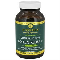 Pioneer Comprehensive Pollen Relief Plus - 60 Vegetarian Capsules