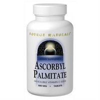 Source Naturals Ascorbyl Palmitate - 500 mg - 90 Tablets