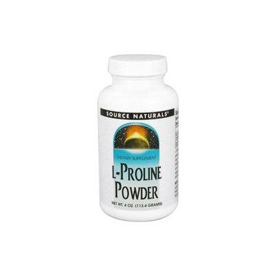 Source Naturals L-Proline Powder - 4 oz