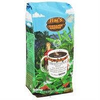 Jim's Organic Coffee Whole Bean Sweet Love Blend - 12 oz