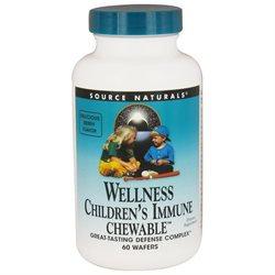 Source Naturals Wellness Children's Immune Chewable - 60 Soft Chews