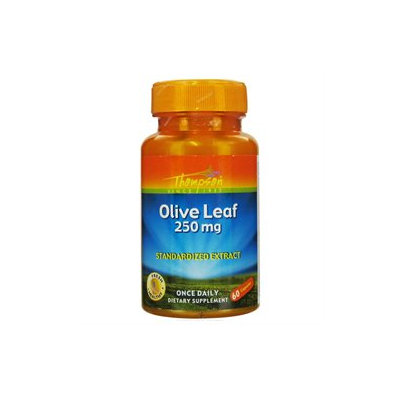 Thompson - Olive Leaf Standardized Extract 250 mg. - 60 Capsules