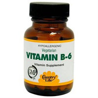 Vitamin B-6 50 Mg 100 Tab By Country Life Vitamins (1 Each)