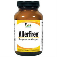 Pure Essence Labs - AllerFree Enzymes For Allergies - 45 Vegetarian Capsules